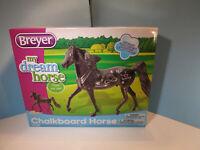 BREYER CLASSICS-My Dream Horse Chalkboard Horse Morgan Model Horse-NIB