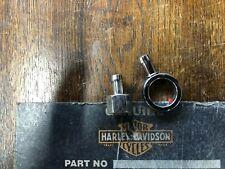 HARLEY-DAVIDSON FATBOB TANKS, METAL HOSE ELIMINATOR ALLOWS RUBBER HOSE   BOX 4