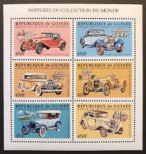 GUINEA VINTAGE CARS OF THE WORLD STAMP SHEET 1998 MNH AUTOMOBILE ALFA ROMEO