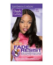 DARK&LOVELY Fade Resist Rich Conditioning Hair Color #371 Jet Black