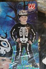 Kostüm Skelett Gr.98 1-2 Jahre Fasching Karneval Halloween