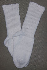 NEW Warm and Soft Hand Knit Wool Socks (9.5 inches length)