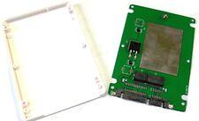"""Zs- CONTENITORE BOX CASE ENCLOSURE SATA3 2.5"""" PER HDD SSD LENOVO X1 CARBON"""