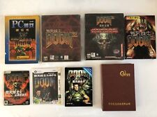 Ultra rare PC DOOM Collection of Taiwan / Chinese Editions from 1993-2012