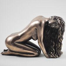 Sugerir Desnudo Figura Art Deco Desnudo Escultura Bronce Erótico Estatua Sexy 01360