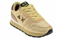 SCARPE SUN68 ALLY SOLID GLITTER Sneakers Nuove ORO58280 SCARPE FASHION DONNA