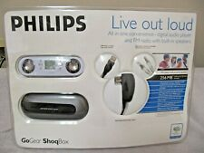 """PHILIPS GoGear ShoqBox PSS115/17 MP3 Player and FM Radio All in One  """"Open Box"""""""