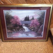 Home Interiors Designer Series The Old Stone Bridge 30 X 25 Picture Sambataro