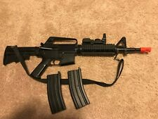 New listing Airsoft Gun, Spring Powered, Magazines and Sling Included