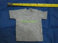 "1/6 Scale Tee Hot Gray Short Sleeves T-Shirt For 12"" Action Figure Toys"