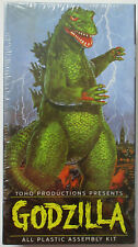 Godzilla All Plastic Assembly Kit from Aurora #7502