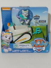 Paw Patrol Everest's Rescue Snowmobile, Vehicle and Figure.