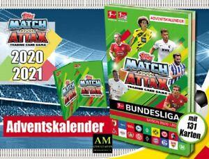 Topps Match Attax 2020/21 - Football Bundesliga Advent Calendar - New/Boxed