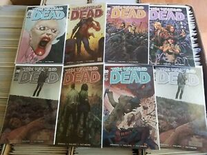 The Walking Dead #100 Lot of 8 Variant Covers McFarlane Chrome Quitely NM Set