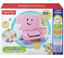Fisher-Price Ridi & Impara SMART fasi Chair-Rosa Fast & Free Shipping