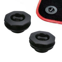 2PCS Fixing Grips Clamps Floor Holders Car Mat Carpet Clips Anti Slip Knob  S_TI