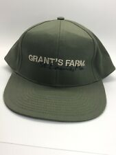 Vintage Grants Farm St Louis Straw Hat made in Mexico