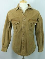 Woolrich men's L corduroy Field Jacket thick two pocket light coat