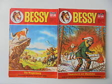 14x Bastei Comic - Bessy Nr.147,151,155...Zustand 3