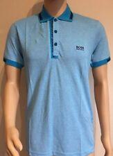 Men's Hugo Boss Short Sleeve Polo Shirt Blue Size-XXL RRP £75