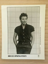 Bruce Springsteen original vintage press headshot photo 1986