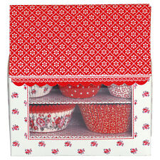 Greengate Cupcake House red Alba 125pcs