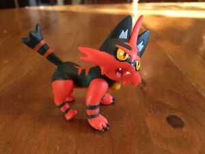 Nintendo 2018 Pokemon Series 2 TORRACAT Vinyl PVC Articulated Action Figure VGC
