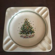 Vintage Mid Century Salem Christmas Eve Christmas Tree Design Ashtray