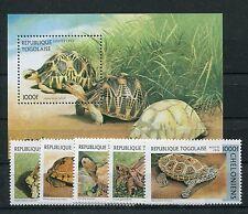 Togo 2480/85 Block 401 postfrisch / Schildkröten ...........................1/38