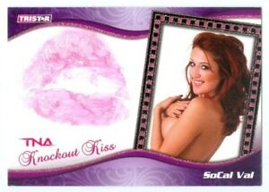 "SOCAL VAL ""KISS CARD #46/75"" TRISTAR TNA KNOCKOUTS!!!"