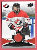 2016-17 Mason Shaw Upper Deck Team Canada Juniors Jersey - Minnesota Wild