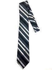 New Men's NeckTie Suit Formal Dress Wear Italian Design Striped Silver Dress Tie