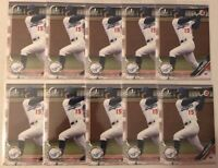 KODY HOESE 2019 BOWMAN DRAFT (10) 1ST YEAR PROSPECT CARD LOT #BD-187