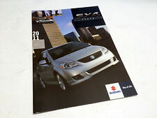 2011 Suzuki SX4 Sedan Brochure