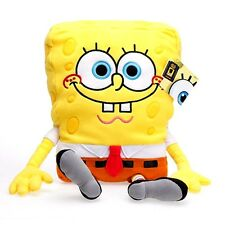"Licensed 26"" Spongebob SquarePants Plush Pillow smiling with buck teeth-New!"