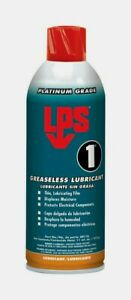 LPS No. 1 GREASLESS LUBRICANT Spray Thin Film 11 oz. Displace Moisture 00116 NEW