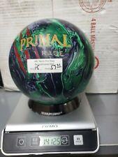 New listing Used 15LB Motiv Primal Rage Bowling Ball