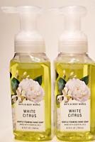 2-PACK Rare Discontinued WHITE CITRUS 🍋 Gentle Foaming Hand Soap 8.75oz set lot
