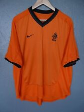 VINTAGE Holland Nike 2000 Calcio Casa MAGLIETTA TRIKOT taglia XL (238)
