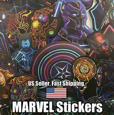 30 - Avengers Marvel Stickers Neon Super Hero Vinyl Laptop Decal Luggage Car