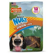 Natural Nubz Edible Dog Chews Venison Flavor Wild 16 oz