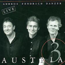 Austria 3 by (CD, 1998, BMG/Ariola) Live w/ G. Danzer; W. Ambros; R. Fendrich