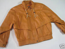 Mens Wilsons Leather Jacket Thinsulate Lined Small