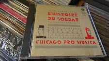STRAVINSKY L'HISTOIRE DU SOLDAT CHICAGO PRO MUSICA RIMSKY CAPRICCIO ESPAGNOL RR