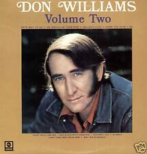 DON WILLIAMS ~ VOLUME TWO ~ 1974 UK 10-TRACK STEREO LP RECORD ~ ABC ABCL 5154
