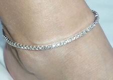 Rhinestone Anklet / Ankle Bracelet Elasticated *NEW*