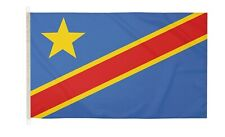 DuraFlag  Congo DR 2006 5ft x 3ft Flag with Clips And Hooks