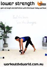 Strength Weights Training Exercise DVD - Barlates Body Blitz LOWER STRENGTH!