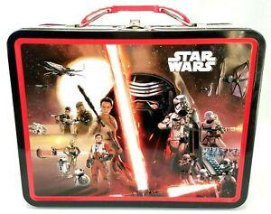 Star Wars Episode VII The Force Awakens Film Montage Lunch Box Tin Case