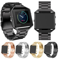 For Fitbit Blaze Adjustable Watch Bands Replacement Stainless Steel Bracelet USA